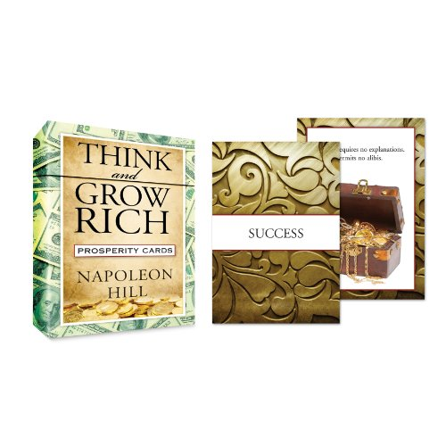 Think and Grow Rich Prosperity Cards (Tarcher Inspiration Cards): Hill, Napoleon