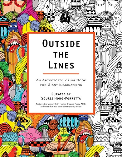9780399162084: Outside the Lines: An Artists' Coloring Book for Giant Imaginations