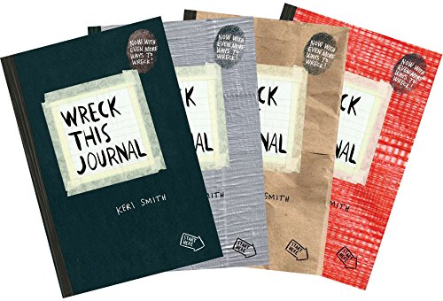 9780399162732: Wreck This Journal (4 Volume Set)