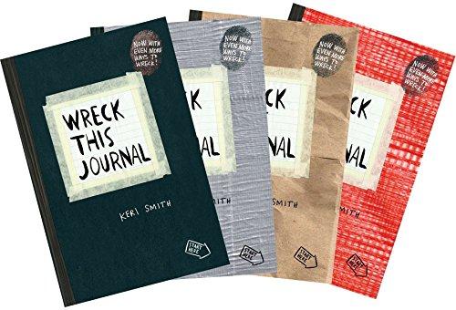Wreck This Journal Bundle Set (Paperback): Keri Smith