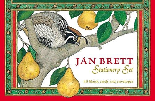 9780399163159: Jan Brett Stationery Set