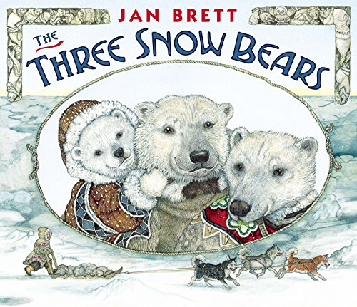 9780399163265: The Three Snow Bears: oversized board book