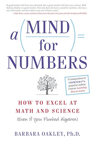 9780399165245: A Mind for Numbers: How to Excel at Math and Science (Even If You Flunked Algebra)