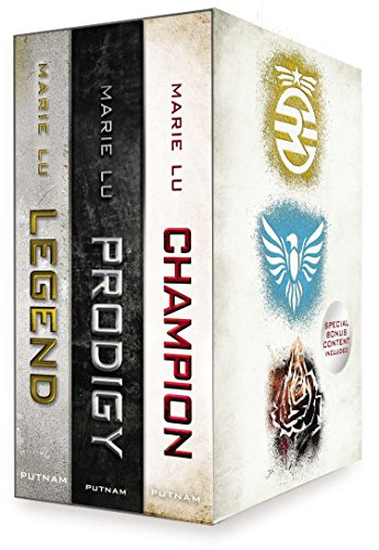9780399166679: The Legend Trilogy Boxed Set: Legend/Prodigy/Champion [With Life Before Legend]