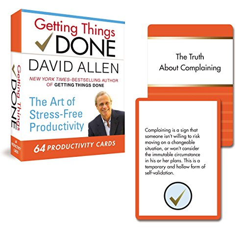 9780399167003: Getting Things Done: 64 Productivity Cards: The Art of Stress-Free Productivity