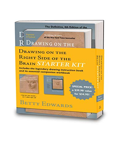 9780399167904: Drawing on the Right Side of the Brain Starter Kit: The Definitive