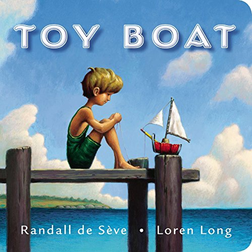 Toy Boat 9780399167973 This classic tale makes the perfect gift for little boys who love adventure! A little boy has a toy boat that he made out of a can, a cork, a yellow pencil, and some white cloth. The boy and his boat are inseparable . . . until the day the wind pushes the boat out into the wide lake, and the little boat must face fierce waves, a grumpy ferry, a sassy schooner, and a growling speed boat if he is to find his way home. From Randall de Seve and bestselling artist Loren Long, creator of the Otis series and illustrator of The Little Engine That Could, comes a child-friendly adventure sure to inspire imaginative toy play. Praise for TOY BOAT *  With plenty of buoyant charm and imaginative artwork, this contemporary Little Toot has an abundance of child appeal. --Booklist, starred review  A resonant tale with wide appeal. --Publishers Weekly