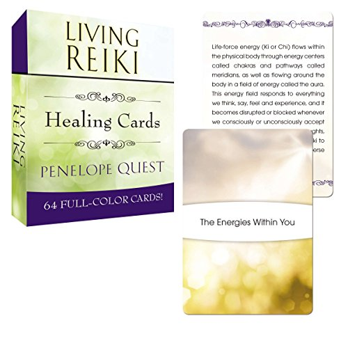 9780399168130: Living Reiki Healing Cards (Tarcher Inspiration Cards)