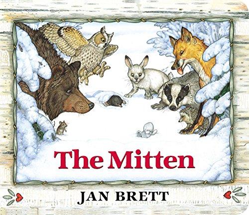 9780399169816: The Mitten: Oversized Board Book
