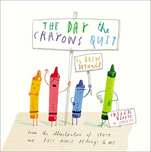 9780399174193: The Day Crayons Quit