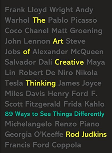 9780399176838: The Art of Creative Thinking: 89 Ways to See Things Differently