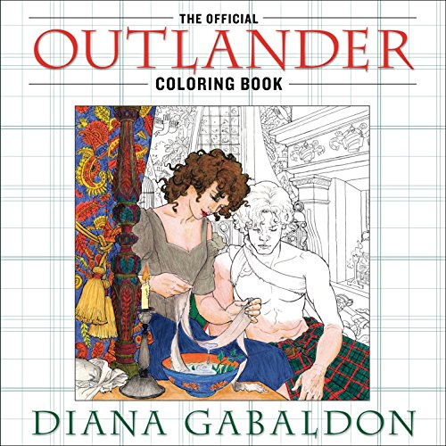 9780399177538: The Official Outlander Coloring Book