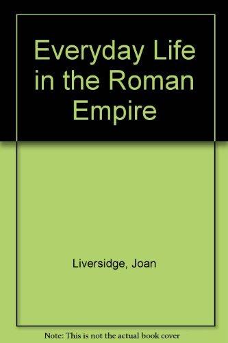 9780399205545: Everyday Life in the Roman Empire