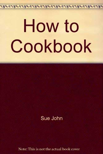 9780399208904: The how-to cookbook