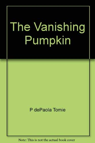 9780399209925: Vanishing Pumpkin