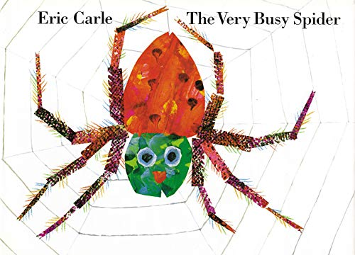 The Very Busy Spider: Eric Carle