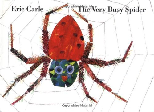 9780399215926: The Very Busy Spider -Miniature version book.
