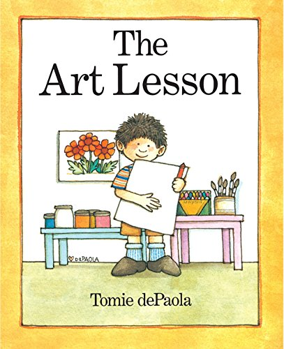 The Art Lesson * SIGNED * (FIRST EDITION): dePaola, Tomie