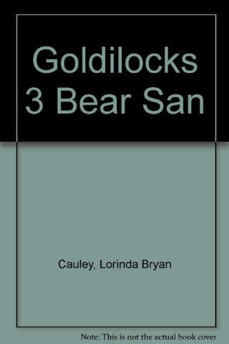 9780399223266: Goldilocks 3 Bear San