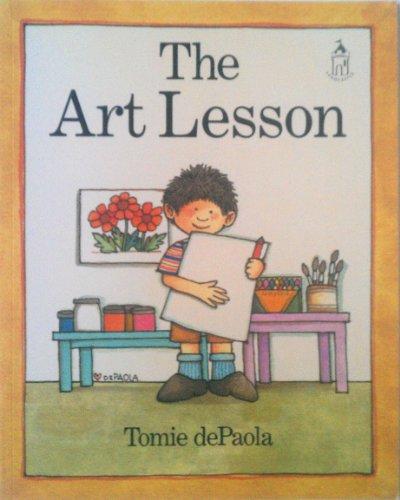 9780399227615: The Art Lesson (Sandcastle Book)