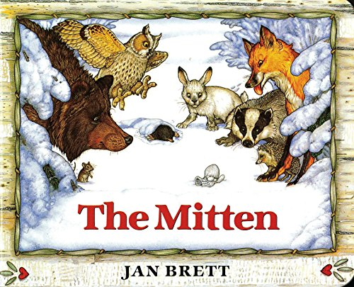 9780399231094: The Mitten: A Ukrainian Folktale