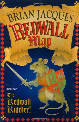 9780399232480: Redwall Map; Includes: The Redwall Riddler!