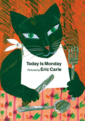 9780399236051: Today Is Monday board book