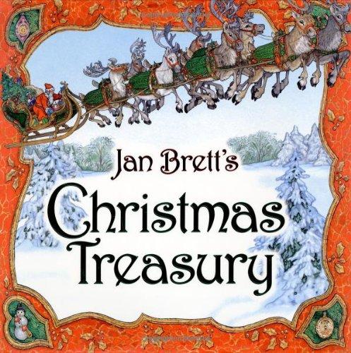 9780399237416: Jan Brett's Christmas Treasury
