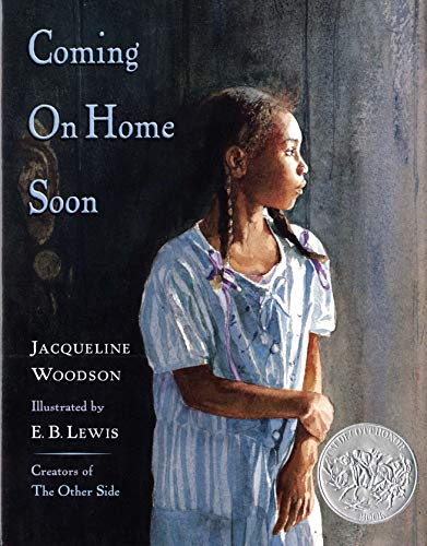 COMING ON HOME SOON (2x Signed): Woodson, Jacqueline; E. B. Lewis (Illustrator)