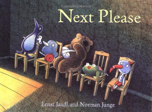 Next Please: Ernst Jandl, Norman Junge (Illustrator)