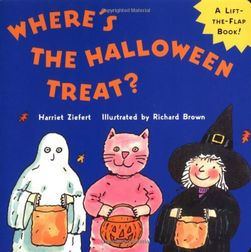 9780399237881: Where's the Halloween Treat?: Life the Flap Book