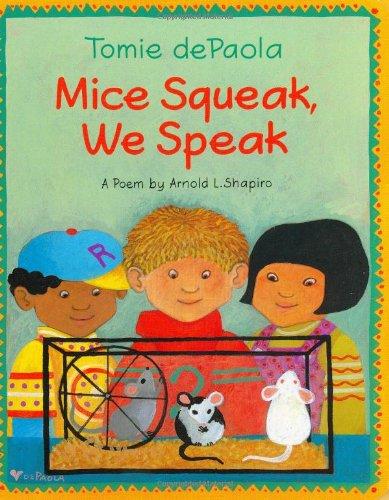 9780399237980: Mice Squeak, We Speak Board Book