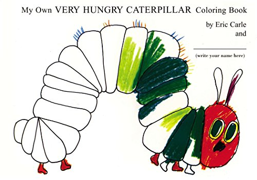 9780399242076: My Own Very Hungry Caterpillar Coloring Book