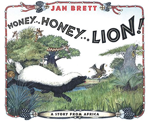9780399244636: Honey...Honey...Lion!: A Story from Africa