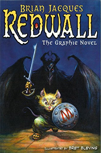 Redwall: The Graphic Novel ***SIGNED BY AUTHOR***: Brian Jacques; Adapted By Stuart Moore