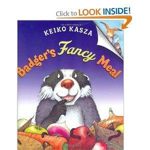 9780399251719: Badger's Fancy Meal
