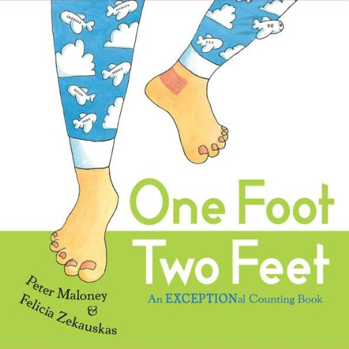 9780399254468: One Foot, Two Feet: An EXCEPTIONal Counting Book