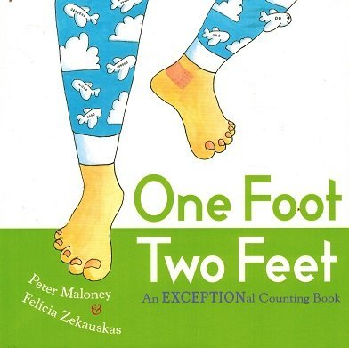 9780399255793: One Foot Two Feet An Exceptional Counting Book