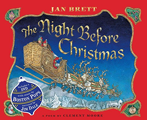 9780399256707: The Night Before Christmas (Book & DVD)