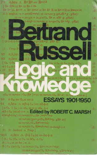9780399501463: Logic and Knowledge