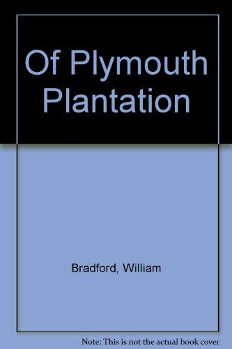 9780399501821: Of Plymouth Plantation