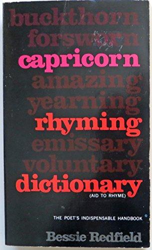 Capricorn Rhyming: Redfield, Bessie G.