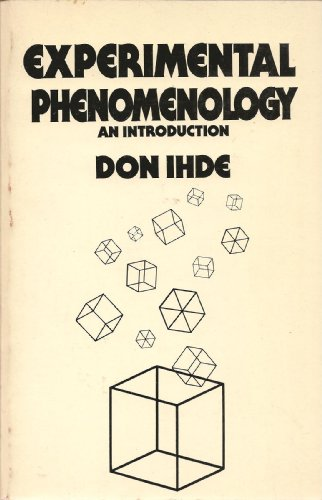 9780399503733: Experimental Phenomenology : An Introduction