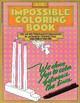 9780399507168: The Impossible Coloring Book: Oscar Reutersvard's Drawings in Japanese Perspective