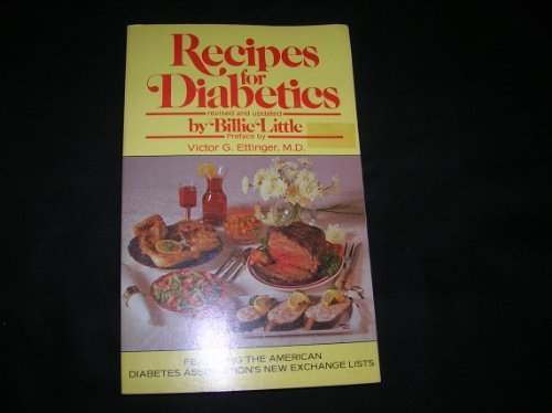 9780399509575: Recipes For Diabetics
