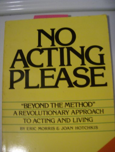 9780399510663: No Acting Please