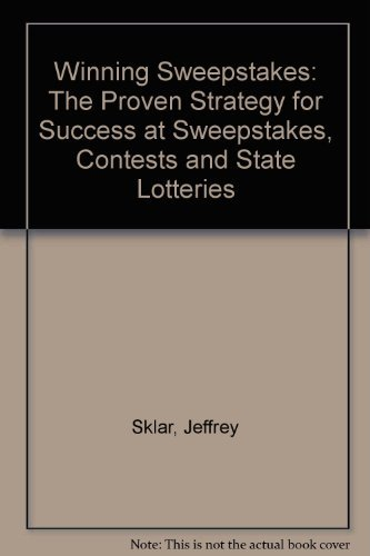 9780399511288: Winning Sweepstakes: The Proven Strategy for Success at Sweepstakes, Contests and State Lotteries
