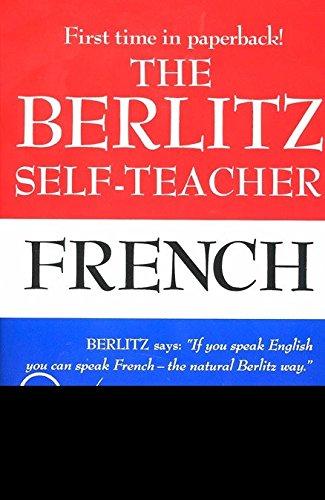 9780399513237: The Berlitz Self-Teacher: French