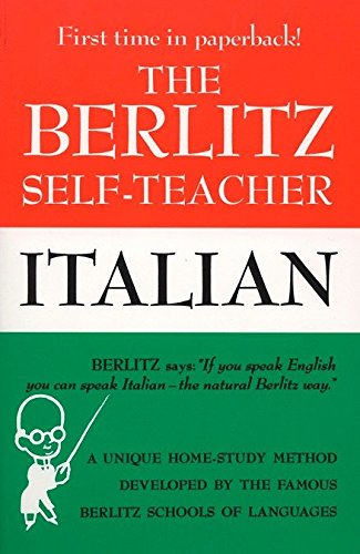 9780399513251: Berlitz Self-teacher: Italian