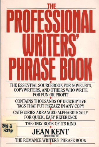 9780399513381: Professional Writers Phrase Book